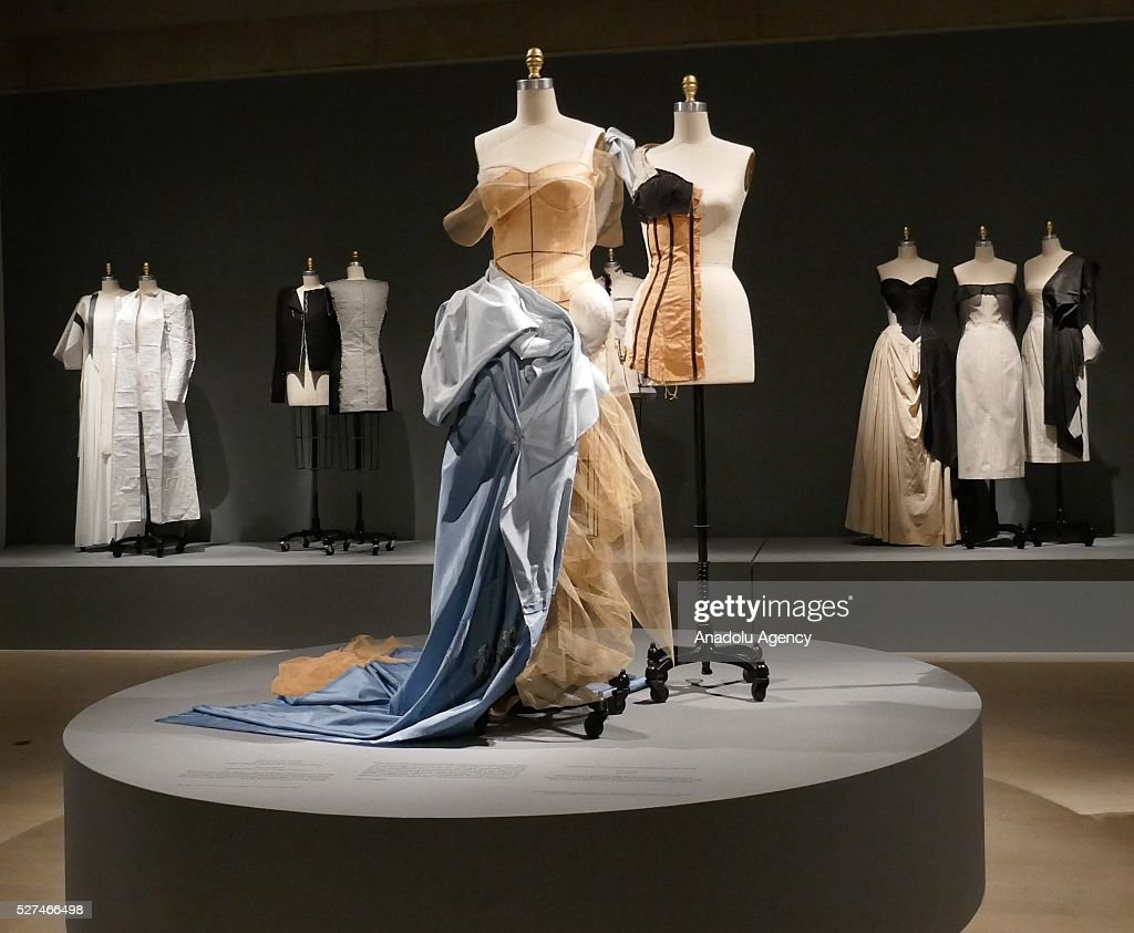 Manus x Machina: Fashion in an age of technology exhibition in New York : News Photo