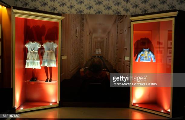 Dresses belonging to Stanley Kubrick's movie The Shining are exhibited as part of the Stanley Kubrick 'La Exposicion' at Cineteca Nacional on...