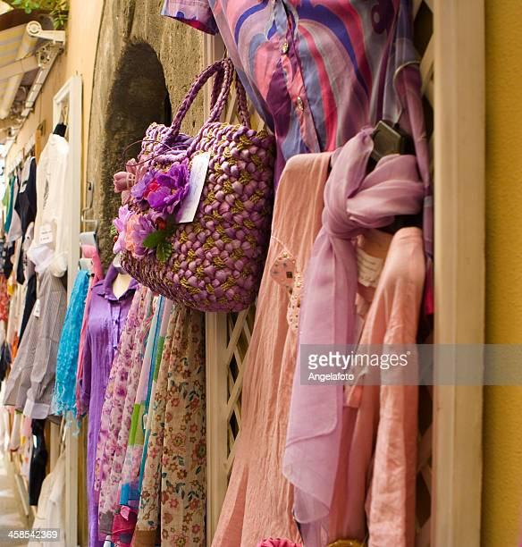 Dresses for Sale in Positano, Amalfi Coast, Italy