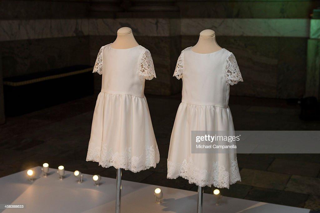 Swedish Royal Wedding Dresses Exhibition at Royal Palace : News Photo