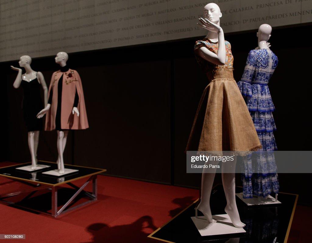 'El Armario de Carmen Lomana' Exhibition Presentation : News Photo