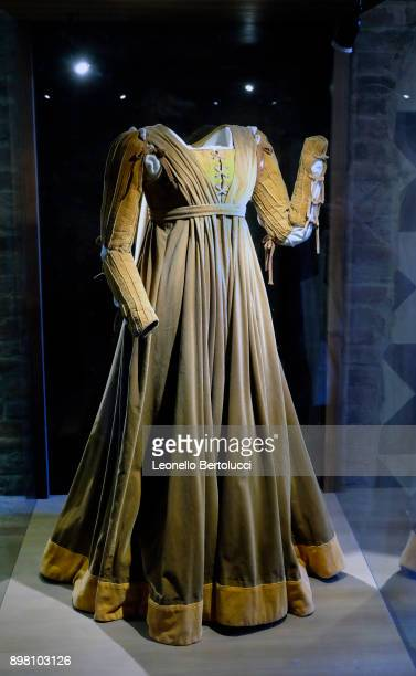"""Dresses used in the movie Romeo and Juliet by the director Franco Zeffirelli in Via Cappello 23 which is today known as """"Juliet's House"""" on November..."""
