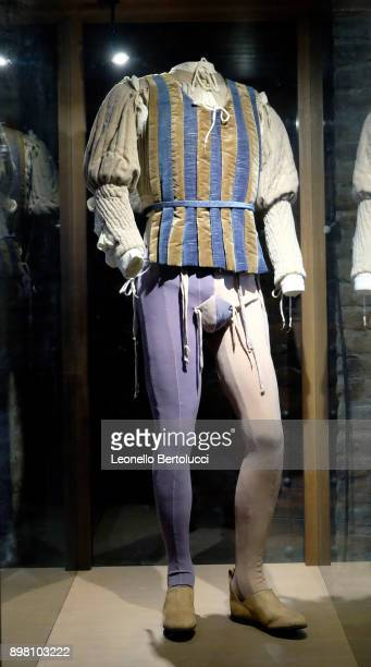 """Dresses used in the movie 'Romeo and Juliet' by the director Franco Zeffirelli in Via Cappello 23 which is today known as """"Juliet's House"""" on..."""