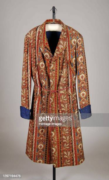 Dressing Gown, American, 1870-79. Artist Unknown.