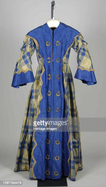 Dressing Gown, American, circa 1855. Artist Unknown.