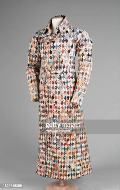 Dressing gown, British, circa 1825. Artist Unknown.