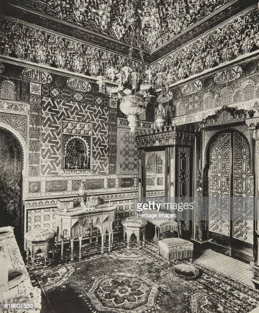 Dressing room Franks Hall Horton Kirby Kent 1894 Photolithograph One of the most complete Elizabethan houses in England Franks Hall had fallen into...