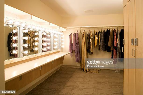 Dressing room in David H. Koch Theater at Lincoln Center, New York