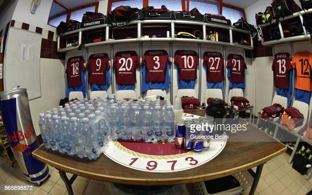 Dressing room of AS Cittadella prior the Serie B match between AS Cittadella and Venezia FC at Stadio Piercesare Tombolato on October 24 2017 in...