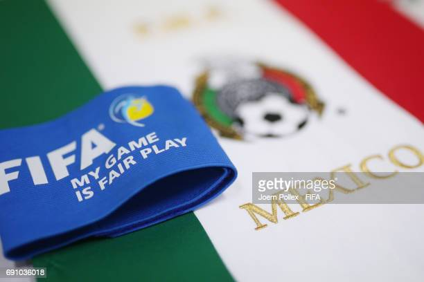 Dressingroom of Mexico before the FIFA U20 World Cup Korea Republic 2017 Round of 16 match between Mexico and Senegal at Incheon Munhak Stadium on...