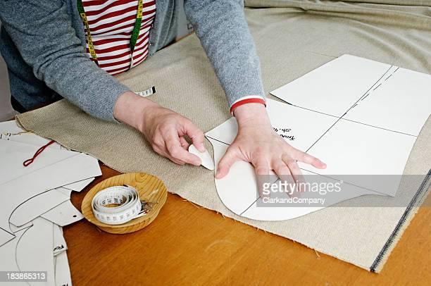 Dressmaker en el trabajo