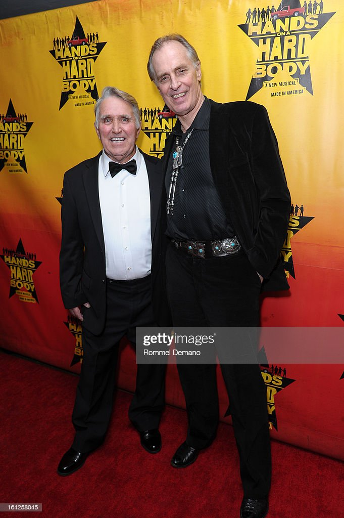 JD Drew and Keith Carradine attend 'Hands On A Hard Body' Broadway Opening Night After Party at Roseland Ballroom on March 21, 2013 in New York City.