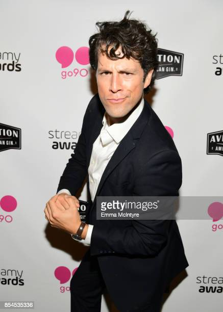 Drew Baldwin at go90 Streamys After Party at Poppy on September 26 2017 in Los Angeles California