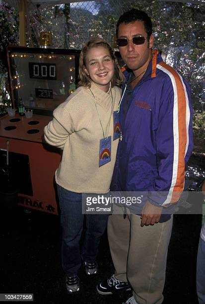 Drew Barrymore and Adam Sandler
