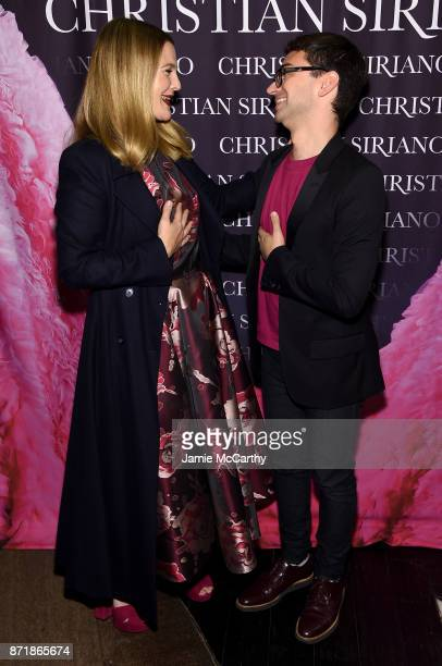 Drew Barrymore and Christian Siriano celebrate the release of his book 'Dresses To Dream About' at the Rizzoli Flagship Store on November 8 2017 in...