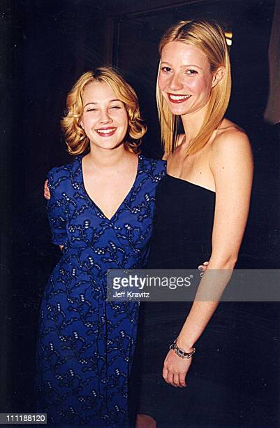 Drew Barrymore and Gwyneth Paltrow during 1998 ShoWest in Las Vegas Nevada United States