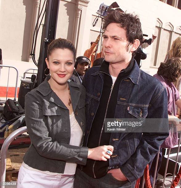 Drew Barrymore and Henry Thomas at the 20th anniversary premiere of 'ET The ExtraTerrestrial' at the Shrine Auditorium in Los Angeles Ca Saturday...