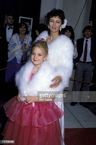 Drew Barrymore and Jaid Barrymore in Los Angeles California