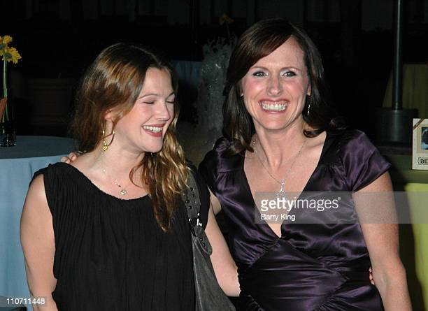 Drew Barrymore and Molly Shannon during Year of the Dog Los Angeles Premiere Arrivals at The Paramount Pictures Theater in Los Angeles California...