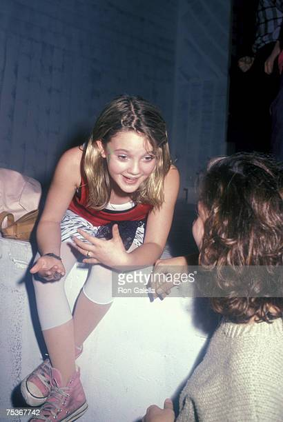 Drew Barrymore and Moon Zappa