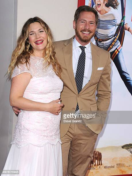 Drew Barrymore and Will Kopelman arrives at the 'Blended' Los Angeles Premiere at TCL Chinese Theatre on May 21 2014 in Hollywood California