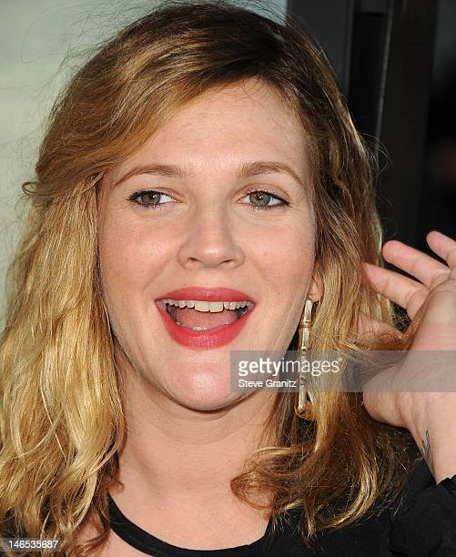 "Drew Barrymore arrives at the 2012 Los Angeles Film Festival - ""Seeking A Friend For The End Of The World"" at Regal Cinemas L.A. Live on June 18,..."