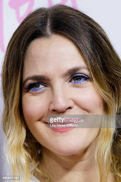Drew Barrymore arrives at the 'Miss You Already' Gala premiere at the State Theatre on September 30, 2015 in Sydney, Australia.