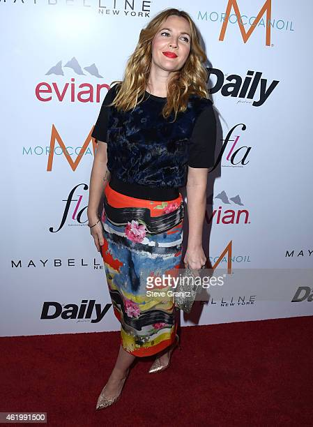 Drew Barrymore arrives at the The Daily Front Row's 1st Annual Fashion Los Angeles Awards at Sunset Tower Hotel on January 22 2015 in West Hollywood...