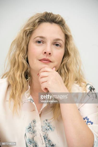 Drew Barrymore at the Santa Clarita Diet Press Conference at the Four Seasons Hotel on March 23 2018 in Beverly Hills California