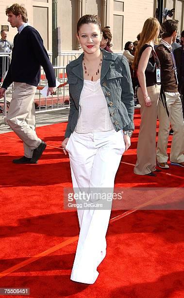 Drew Barrymore at the Shrine Auditorium in Los Angeles California