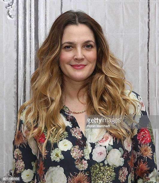 Drew Barrymore attends AOL BUILD Series Drew Barrymore Wildflower at AOL Studios In New York on December 17 2015 in New York City