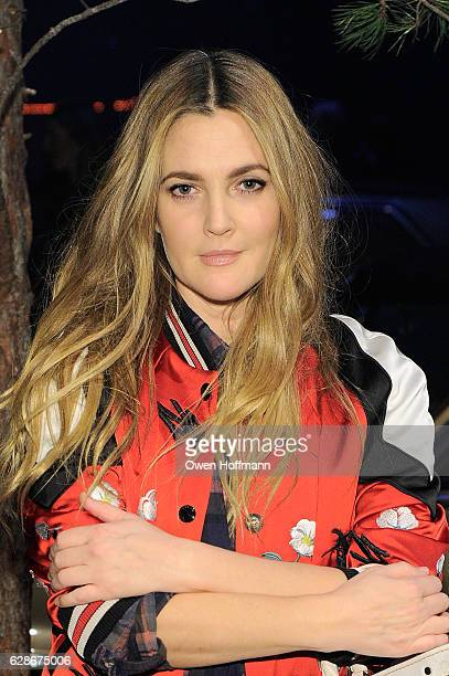Drew Barrymore attends Coach 75th Anniversary Women's PreFall and Men's Fall Show on December 8 2016 in New York City