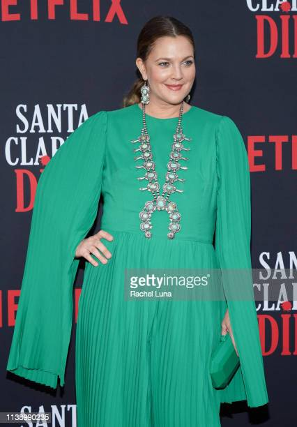 Drew Barrymore attends Netflix's 'Santa Clarita Diet' Season 3 Premiere at Hollywood Post 43 on March 28 2019 in Los Angeles California