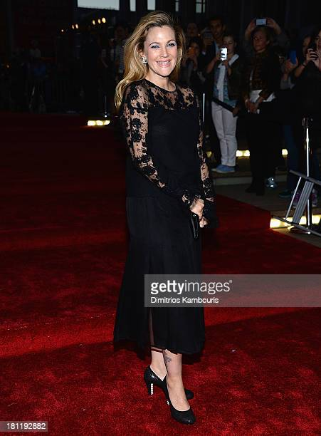 Drew Barrymore attends New York City Ballet 2013 Fall Gala at David H Koch Theater Lincoln Center on September 19 2013 in New York City