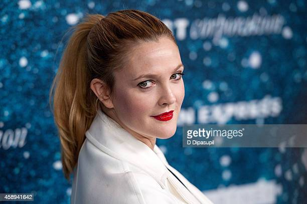 Drew Barrymore attends the 2014 Women's Leadership Award Honoring Stella McCartney at Alice Tully Hall at Lincoln Center on November 13 2014 in New...