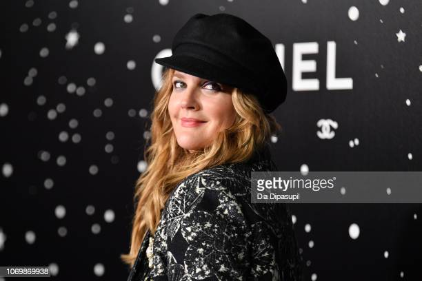 Drew Barrymore attends the 2018 Museum of Modern Art Film Benefit A Tribute To Martin Scorsese at Museum of Modern Art on November 19 2018 in New...