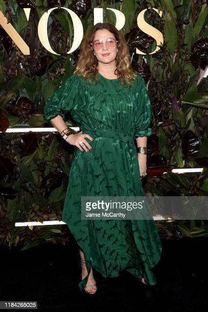 Drew Barrymore attends the 2019 WWD Honors at Intercontinental New York Barclay on October 29 2019 in New York City