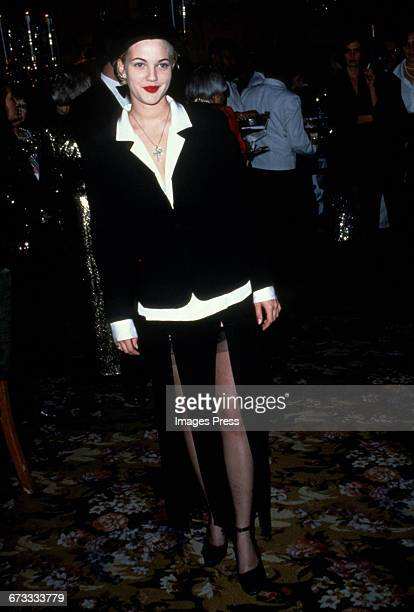 Drew Barrymore attends the 8th Annual Rita Hayworth Gala to benefit the Alzheimer's Foundation held at Tavern on the Green circa 1992 in New York...