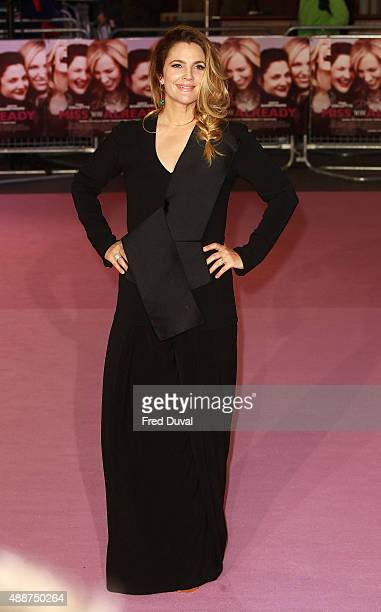 Drew Barrymore attends the European Premiere of 'Miss You Already' at Vue West End on September 17 2015 in London England