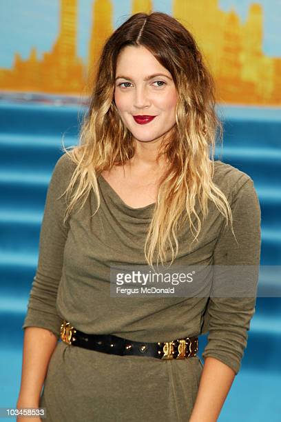 Drew Barrymore attends the World premiere of Going The Distance held at the Vue Leicester Square on August 19 2010 in London England