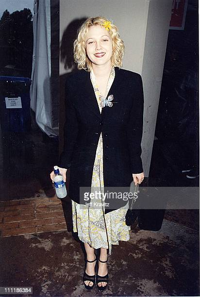 Drew Barrymore during 1998 Kid's Choice Awards in Los Angeles California United States