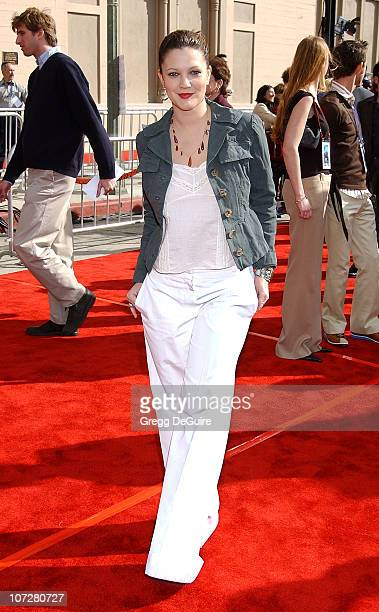 Drew Barrymore during 20th Anniversary Premiere of Steven Spielberg's ET The ExtraTerrestrial Red Carpet at Shrine Auditorium in Los Angeles...