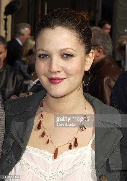 Drew Barrymore during 20th Anniversary Premiere of Steven Spielberg's ET The ExtraTerrestrial Arrivals at The Shrine Auditorium in Los Angeles...