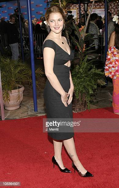 Drew Barrymore during '50 First Dates' Los Angeles Premiere at Mann Village Theatre in Westwood California United States