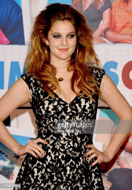 Drew Barrymore during '50 First Dates' Madrid Premiere at Kinepolis Cinema in Madrid Spain