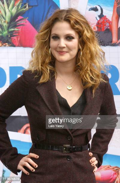 Drew Barrymore during '50 First Dates' Photocall Madrid at VillaMagna Hotel in Madrid Spain