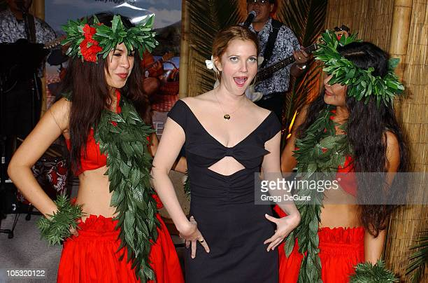 Drew Barrymore during '50 First Dates' Premiere at Mann Village Theatre in Westwood California United States