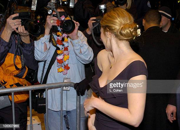 Drew Barrymore during '50 First Dates' Premiere Red Carpet at Mann Village Theatre in Westwood California United States