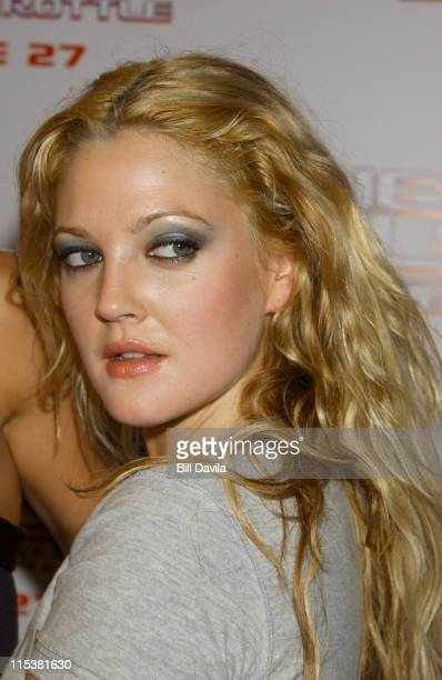 Drew Barrymore during 'Charlie's Angels Full Throttle' New York City Premiere at Loews Lincoln Square in New York City New York United States