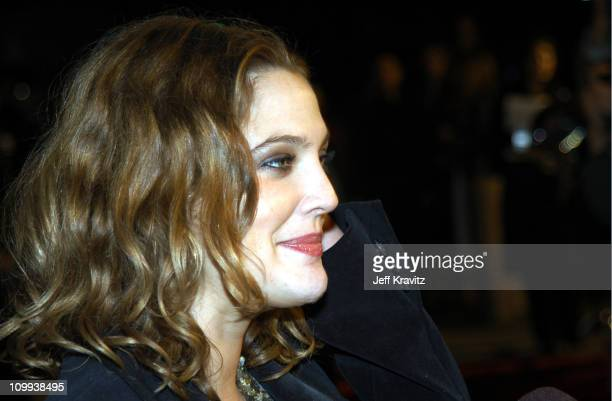 Drew Barrymore during Confessions of a Dangerous Mind Premiere at Mann Bruin Theatre in Westwood, California, United States.